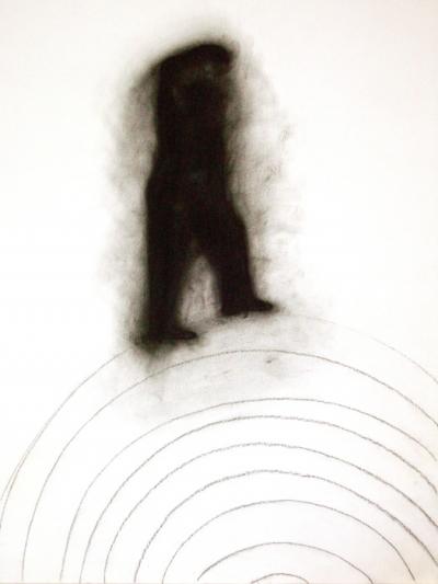 Fusain et crayon sur papier, 50x65cm